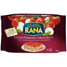 Lasanha tomate e mozzarela