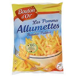 Batata pré-frita allumettes