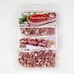 Cubos de bacon