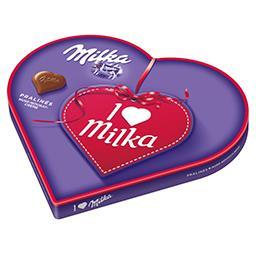 Bombons de Chocolate I Love Milka Nougat