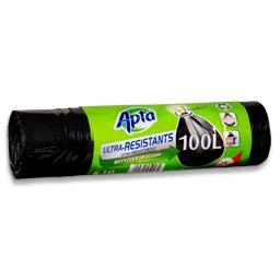 Sacos de lixo com atilho resistente 100l