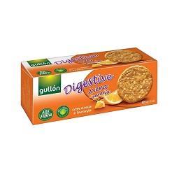 Bolachas digestive aveia e laranja