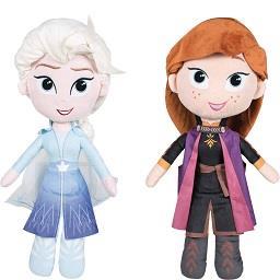 Peluche Elsa/Anna 30 cm