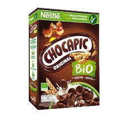 Chocapic bio cer inf peq alm choc bio 330g