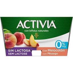 Activia 0% s/ lactose pêssego
