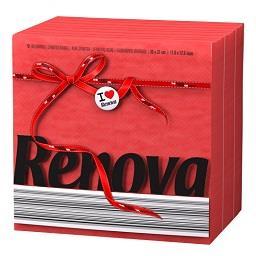 Guardanapos Red Label 1 folha |Vermelho