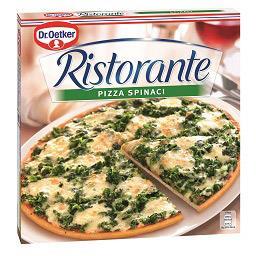 Pizza ristorante de espinafres