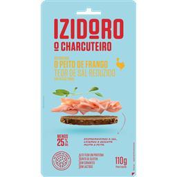 Peito de frango c/ teor de sal reduzido fatias finas