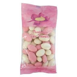 Amêndoa Tipo Francês Rosa/Branco