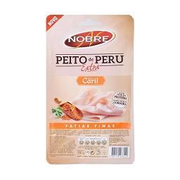Peito de peru extra sabor caril fatias finas