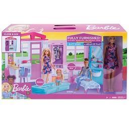 Barbie com casa
