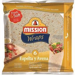 Wraps Espelta/Aveia
