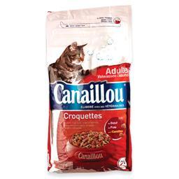 Alimento seco para gato, mistura de carnes