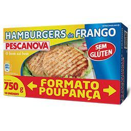 10 Hamburgers de Frango