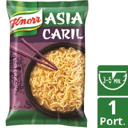Noodles asia block caril