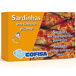 Sardinhas em tomate picante