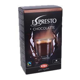 Cápsulas espresto chocolate
