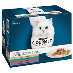 Alimento Húmido p/Gato Pedaços em Molho