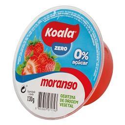 Gelatina zero % morango