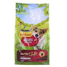 Ração para cão mini adulto nutri soft com frango
