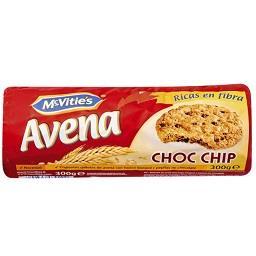 Mcvitie's avena choc chips 300g