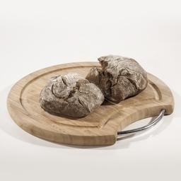 Pão Rústico com Malte