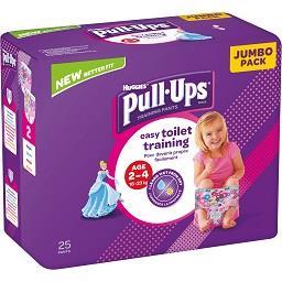 Fraldas cueca pull-ups menina 18 a 23 kg